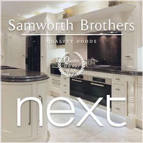 We've tailored projects for well known brands, such as Next & Samworth Brothers