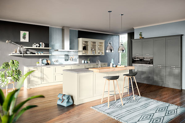 Picture of fitted kitchen